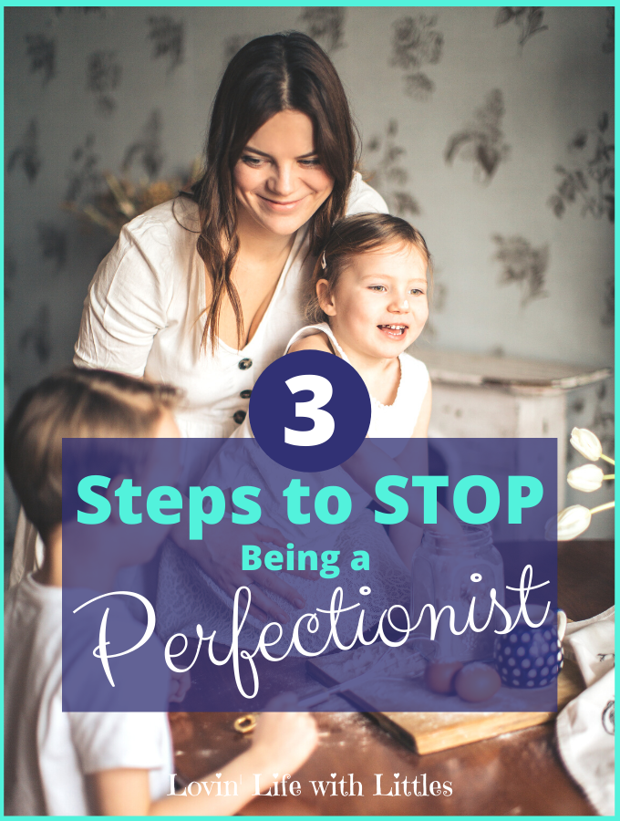 Are you tired of your perfectionist tendencies? Or are you trying to help a perfectionist child? Perfectionism is hard! But in this post, we're going to focus on tips to find a healthier coping mechanism, interrupt perfectionist habits and thought patterns, and overcome perfectionism. The three steps in today's post will be helpful for the perfectionist child, struggling perfectionist, or recovering perfectionist. It's time to learn how to stop being a perfectionist. #perfectionism #stopbeingaperfectionist #overcomeperfectionism